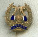 Vintage Lyran Club Enamel Pin