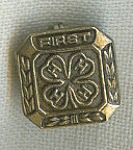 Vintage 4-h 4h First Year Pin