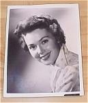Barbara Rush Autograph Photo, Autographed Photo