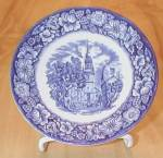 Liberty Blue China Old North Church Teacup Saucers Only, Ironstone