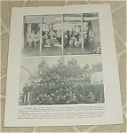 1898 Uss Maine Minstrel Show & Ship's Company Prints, Target Practice