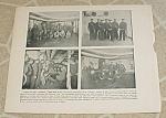 1898 Spanish American War Naval Print, Uss Maine Crew; Havana Harbor