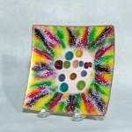 Harold Tischler 5 Inch Square Jewel Bowl