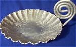 Farber & Shelvin Aluminum Dish, Poinsetta