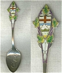 Calgary Sterlng Silver Spoon Collector