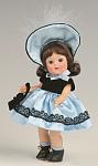 Vogue Doll Blue Satin Ginny Vintage Repro Doll Club Kit 08