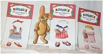 Peck Aubry Brittanny Bunny Kidoodles Paper Doll Set 1997