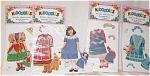 Peck Aubry Anna's Adventure Kidoodles Paper Doll Set
