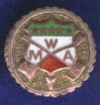 Mwa Mine Workers Of America Enamel Pin.