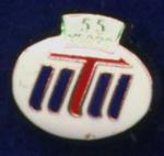 Iitii 55 Years Enamel Professional Pin