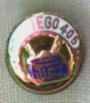 San Diego 405 U.t.c. Pin Gold Filled