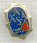 Aasa American Association Advancement Science Pin