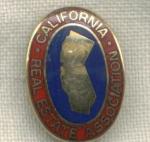 California Real Estate Associaton Pin.
