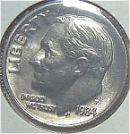 1984-p Roosevelt Dime Cut From Mint Set Coins