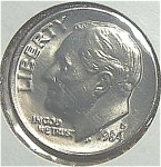 1984-d Roosevelt Dime Cut From Mint Set Coins