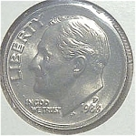 1988-p Roosevelt Dime Cut From Mint Set Coins