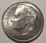 2009-p Roosevelt Dime From Original Bu Roll Coins
