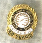Operating Engineers Local 12 50 Year Union Pin