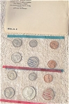 1970-pds U.s. Treasury Mint Set In Original White Envelope 10 Coins