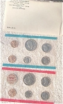 1971-pds U.s. Treasury Mint Set In Original White Envelope 11 Coins