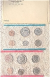 1972-pds U.s. Treasury Mint Set In Original White Envelope 11 Coins