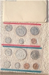 1974-pds U.s. Treasury Mint Set In Original White Envelope 13 Coins