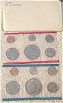 1975-pd U.s. Treasury Mint Set In Original White Envelope 12 Coins