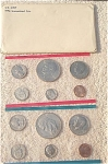 1976-pd U.s. Treasury Mint Set In Original White Envelope 12 Coins