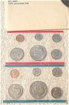 1977-pd U.s. Treasury Mint Set In Original White Envelope 12 Coins