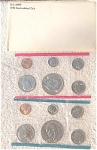1978-pd U.s. Treasury Mint Set In Original White Envelope 12 Coins