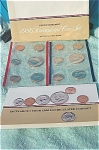 1986-pd U.s. Treasury Mint Set In Original Color Pack With Coa 10 Coins