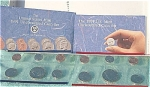 1991-pd U.s. Treasury Mint Set In Original Color Pack With Coa 10 Coins