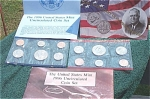 1996-pd (Minus 'w' Dime) U.s. Treasury Mint Set In Original Color Pack With Coa 10 Coins