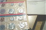 1963 U.s. Treasury Flat Pack Silver Mint Set In Original Envelope 10 Coins
