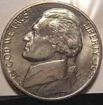 1971-d Jefferson Nickel Bu Or Better Cut From Mint Set Coins