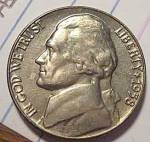 1958 Jefferson Nickel Unc To Bu From Bu Roll Coins