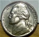 1966 Jefferson Nickel Bu Or Better From Bu Roll Coins