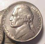 1954-d Jefferson Nickel Unc To Bu From Bu Roll Coins