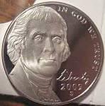 2009-s Jefferson Deep Cameo Gem Proof Nickel Coins