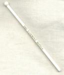 Fairmont Hotels White Swizzle Stick.