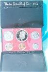 1973-s U.s. Treasury Light Cameo Gem Proof Set In Original Box 6 Coins