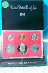 1981-s Type I U.s. Treasury Deep Cameo Gem Proof Set In Original Box 6 Coins