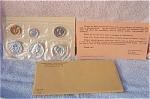 1961 U.s. Treasury Brilliant Gem Silver Flat Pack Proof Set 5 Coins