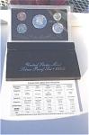 1992-s 90% Silver U.s. Treasury Deep Cameo Gem Proof Set In Original Box With Coa 5 Coins