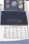 1993-s 90% Silver U.s. Treasury Deep Cameo Gem Proof Set In Original Box With Coa 5 Coins
