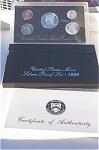 1996-s 90% Silver U.s. Treasury Deep Cameo Gem Proof Set In Original Box With Coa 5 Coins