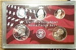 2002-s 90% Silver U.s. Treasury Deep Cameo Gem 5-coin Minors Only Proof Set In Plastic Display 5 Coins