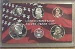 2003-s 90% Silver U.s. Treasury Deep Cameo Gem 5-coin Minors Only Proof Set In Plastic Display 5 Coins