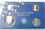 1999-s C/n Clad U.s. Treasury Deep Cameo Gem 4-coin Minors Only Proof Set 4 Coins