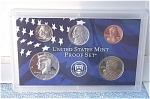 2001-s C/n Clad U.s. Treasury Deep Cameo Gem 5-coin Minors Only Proof Set 5 Coins